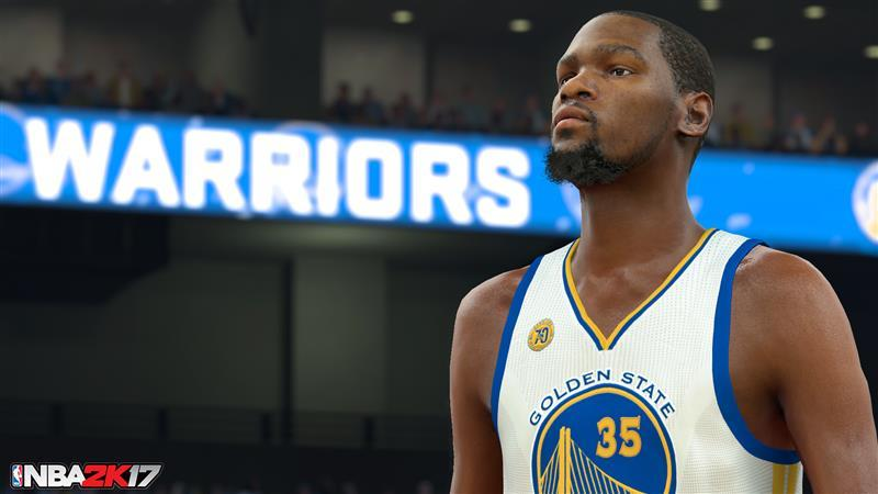 Kevin Durant in NBA 2K17
